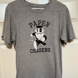 Women's L Crooks & Castles Paper Chaser T-shirt